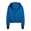 QUILTED HOOD JUMPER (BLUE)
