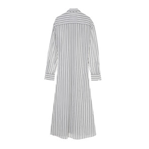 POP-UP SHIRT DRESS(WHITE)