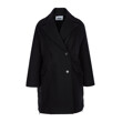WOOL FELT COAT (BLACK)