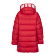 SOLID LIGHT NYLON DOWN JACKET (RED)