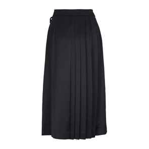 TECHNICAL ENVERSE SATIN SKIRT (BLACK)
