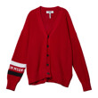 SLEEVE DETAIL CARDIGAN(RED)