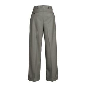 Wool Gabardine Pants(GREY)