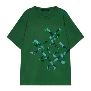 CAMOUFLAGE MAN T-SHIRT (GREEN)