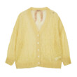 KNIT A033 CARDIGAN (LIGHT YELLOW)