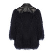 MONGOLIA LAMBSKIN FUR COAT (BLACK)